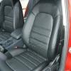 Черные авточехлы для Audi A4 2007 №1