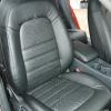 Черные авточехлы для Audi A4 2007 №11