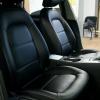 Чехлы для Audi A4 B8 из черной экокожи №8