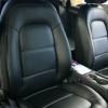 Чехлы для Audi A4 B8 из черной экокожи №2