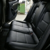 Чехлы для Audi A4 B8 из черной экокожи №5