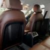 Чехлы для Audi A4 B8 из темно-коричневой экокожи №7