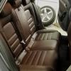 Чехлы для Audi A4 B8 из темно-коричневой экокожи №8