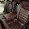 Чехлы для Audi A4 B8 из темно-коричневой экокожи №9