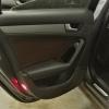 Чехлы для Audi A4 B8 из темно-коричневой экокожи №10