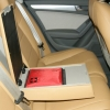 Бежевые чехлы Audi A4 №9