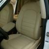 Чехлы для Audi A5 из бежевой экокожи Dakota №1