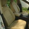 Чехлы для Audi A5 из бежевой экокожи Dakota №2