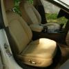Чехлы для Audi A5 из бежевой экокожи Dakota №7