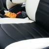 Черно-белые чехлы из экокожи для Ford Ecosport №2