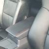 Черные чехлы уровня перетяжки для Honda Accord 2012 №1