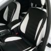 Черно-белые чехлы для Ford Mondeo Titanium
