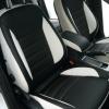 Черно-белые чехлы для Ford Mondeo Titanium №1