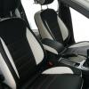 Черно-белые чехлы для Ford Mondeo Titanium №2