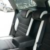 Черно-белые чехлы для Ford Mondeo Titanium №4
