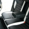 Черно-белые чехлы для Ford Mondeo Titanium №5