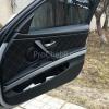 Чехлы для BMW 320 E90 из черной экокожи с ромбом №3