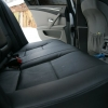 Черные авточехлы на BMW 520 60er №10