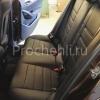 Чехлы для BMW X1 из черной экокожи  №7