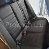 Чехлы для BMW X1 из черной экокожи  №9