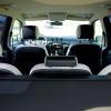 Черно-белые авточехлы с фиолетовой строчкой для Ford S-MAX №5