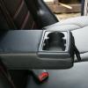 Черные чехлы с красной строчкой для Hyundai Tucson №2