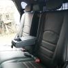 Черные чехлы с красной строчкой для Hyundai Tucson №4