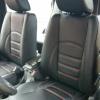 Черные чехлы с красной строчкой для Hyundai Tucson №6