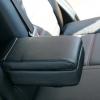 Чехлы из черной экокожи Chevrolet Captiva №7