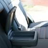 Чехлы из черной экокожи Chevrolet Captiva №8