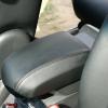 Чехлы из черной экокожи Chevrolet Captiva №10