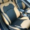 Черно-бежевые авточехлы для Citroen C5 №4