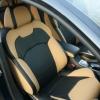 Черно-бежевые авточехлы для Citroen C5 №5