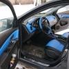 Торпедо и двери Chevrolet Cruze из синей экокожи №3