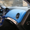 Торпедо и двери Chevrolet Cruze из синей экокожи №6