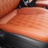 Чехлы для Chevrolet Cruze из коричневой экокожи №3