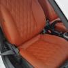 Чехлы для Chevrolet Cruze из коричневой экокожи №5