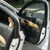 Бежевые топовые чехлы Chevrolet Cruze №6