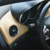 Бежевые топовые чехлы Chevrolet Cruze №11