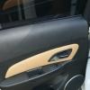 Бежевые топовые чехлы Chevrolet Cruze №15