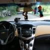 Бежевые топовые чехлы Chevrolet Cruze №17