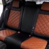 Чехлы для Mazda CX-5 из черно-коричневой экокожи №3