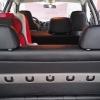 Чехлы для Dodge Caravan из черной  экокожи №13