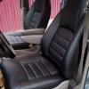 Чехлы для Dodge Caravan из черной  экокожи №3