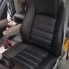 Чехлы для Dodge Caravan из черной  экокожи №4