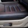 Чехлы для Dodge Caravan из черной  экокожи №6