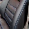 Чехлы для Dodge Caravan из черной  экокожи №7