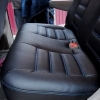 Чехлы для Dodge Caravan из черной  экокожи №9