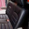 Чехлы для Dodge Caravan из черной  экокожи №10