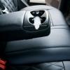 Чехлы для Ford Focus 2 из черной  экокожи с ромбом №7